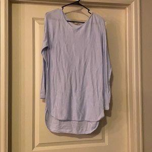 Light blue Michael Kors thin sweater tunic